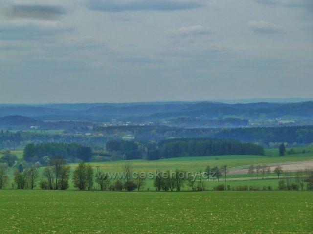 Pohled z Kunačic k Žamberku