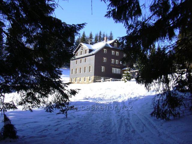Skálka chata, Beskydy