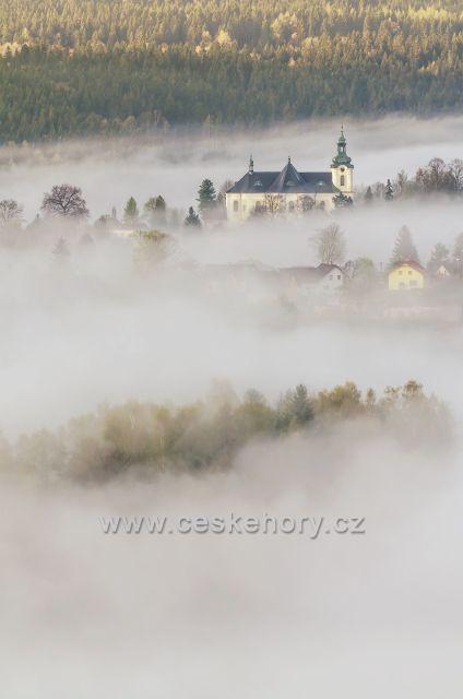 Mlhavé ráno - Smržovka