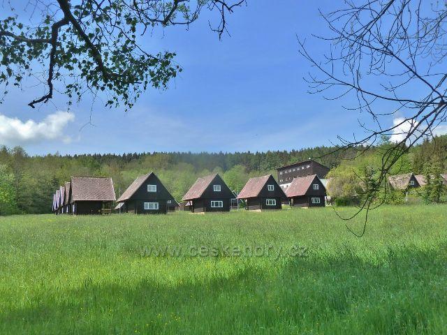 Lanškrounské rybníky - rekreační areál Tábor Obora