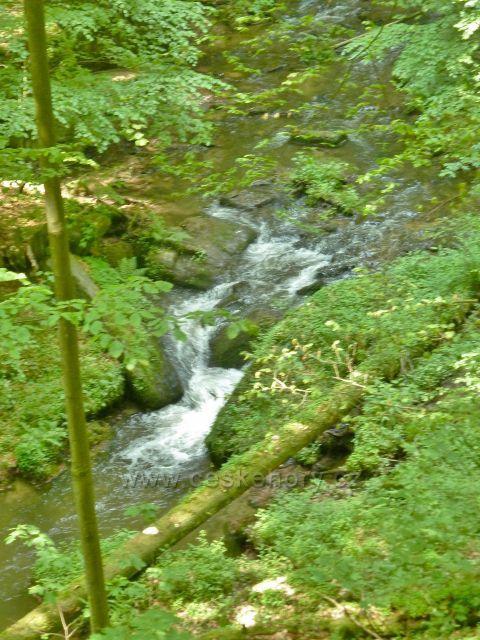 Rešov - Huntava pod vodopády