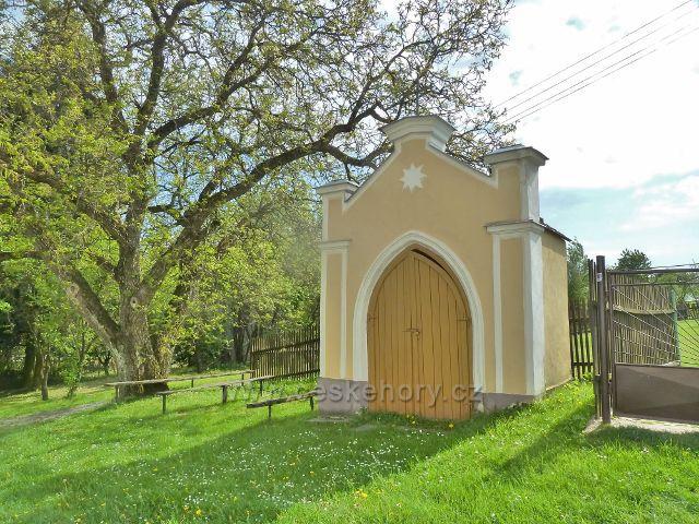 Ruda - kaplička pod kostelem Panny Marie Sněžné