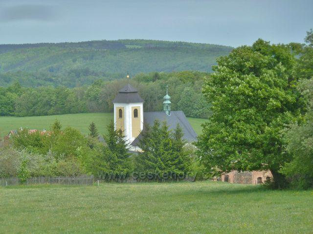 Ruda - pohled z křížové cesty ke kostelu Panny Marie Sněžné