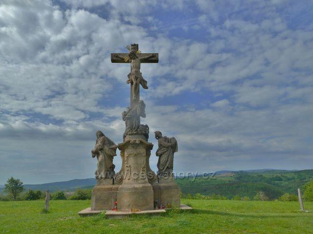Ruda - sousoší na vrcholu Křížové hory