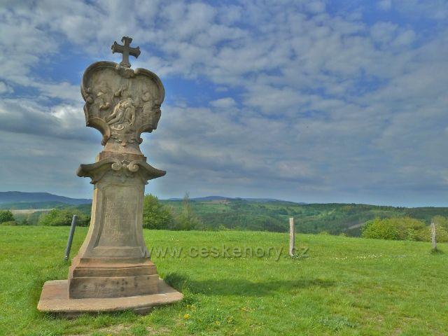 Ruda - XIII. zastavení křížové cesty na vrcholku Křížového vrchu