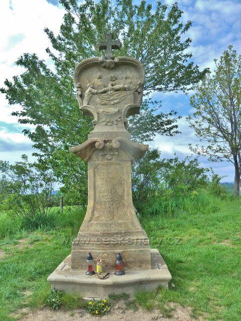 Ruda - poslední, XIV. zastavení na vrcholku Křížového vrchu