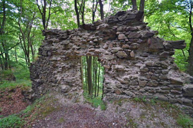 zřícenina hradu Kyšperk