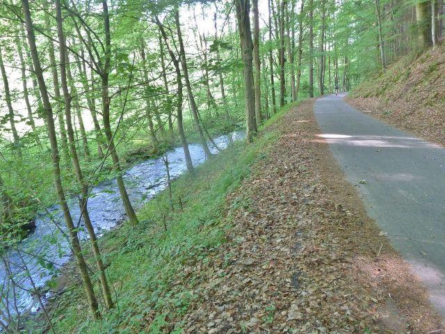 Říčka Moravská Sázava a cyklostezka do Výprachtic
