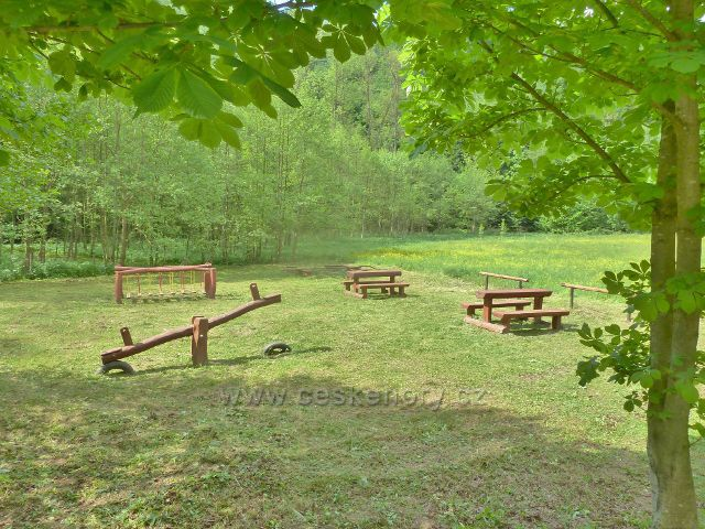 Tábornická louka v údolí Moravské Sázavy