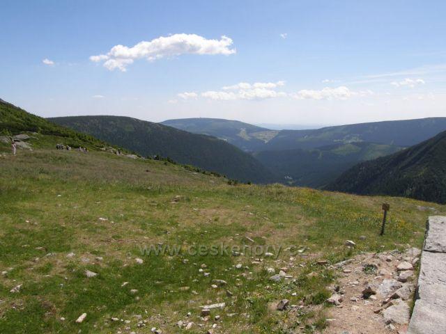 Černá hora z Obřího sedla