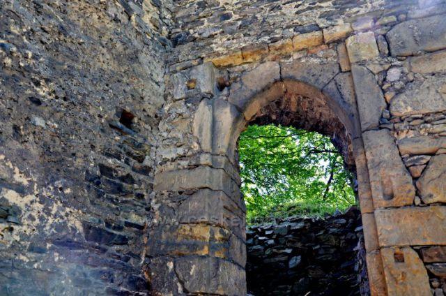 Zřícenina hradu Rýzmburk