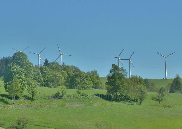 Větrné elektrárny v Ostruzžné