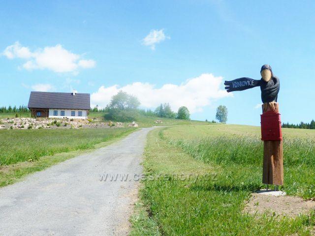 Jamné n.O. - cesta do Hynkovic