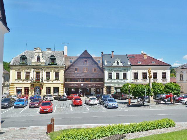 Jablonné nad Orlicí - restaurace a pivovar U Černého medvěda na Náměstí 5.května