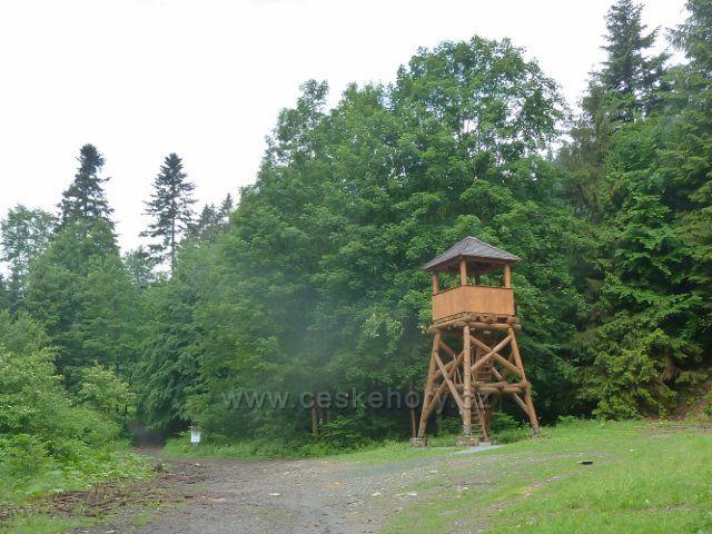 Jižní strážní věž v Údolí ztracených štol