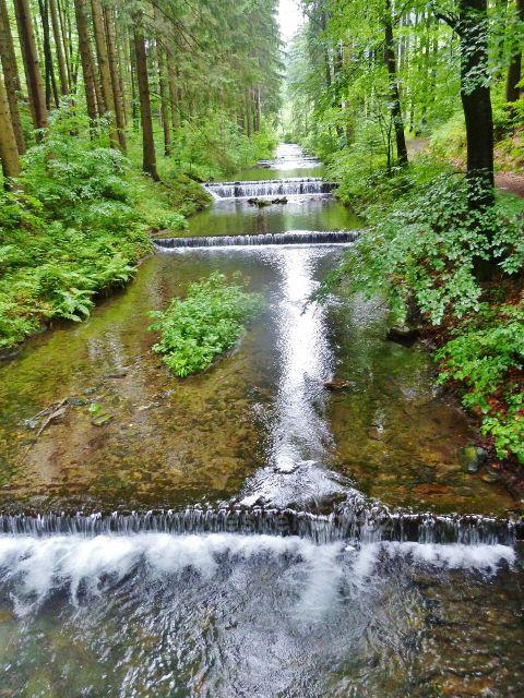 Splávky na Olešnici v Údolí ztracených štol