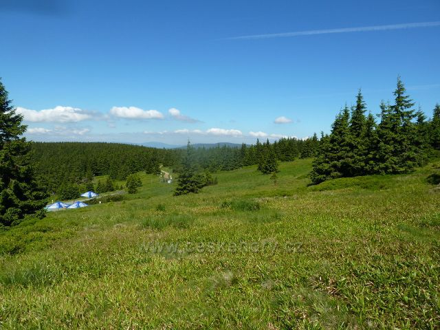 Obnovené pastviny nad Švýcárnou