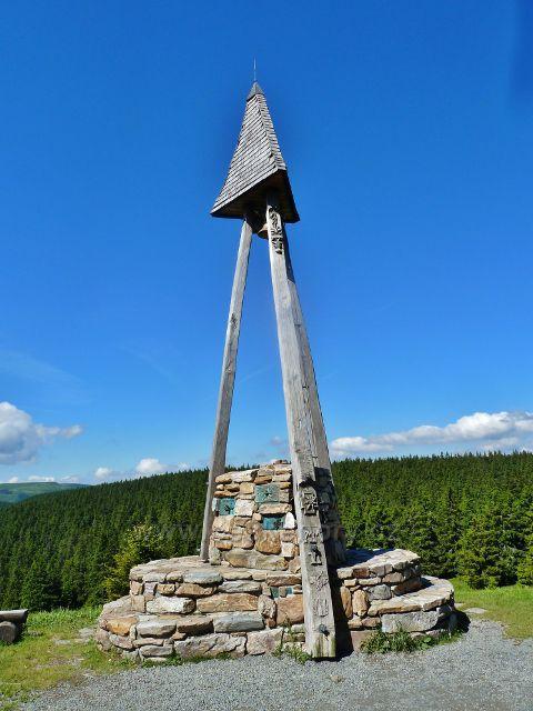 Švýcárna - zvonička před chatou