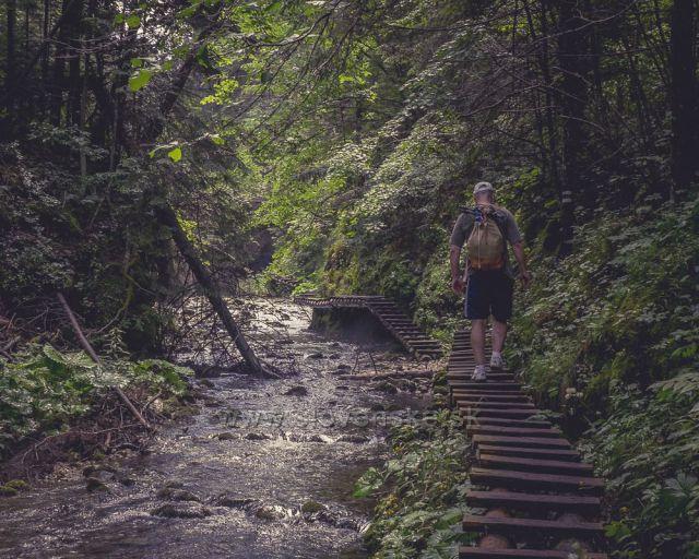 Turista v slovenskom raji