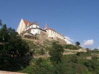 Kostel Sv.Mikuláše ze starých hradeb nad Dyjí-Znojmo