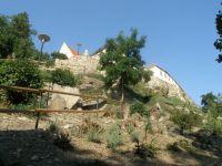 staré hradby od řeky Dyje-Znojmo
