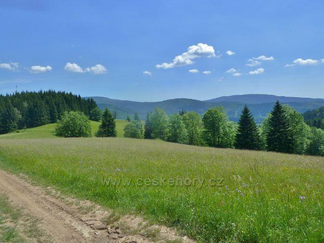 Ostružná - pastviny Pod Stráží