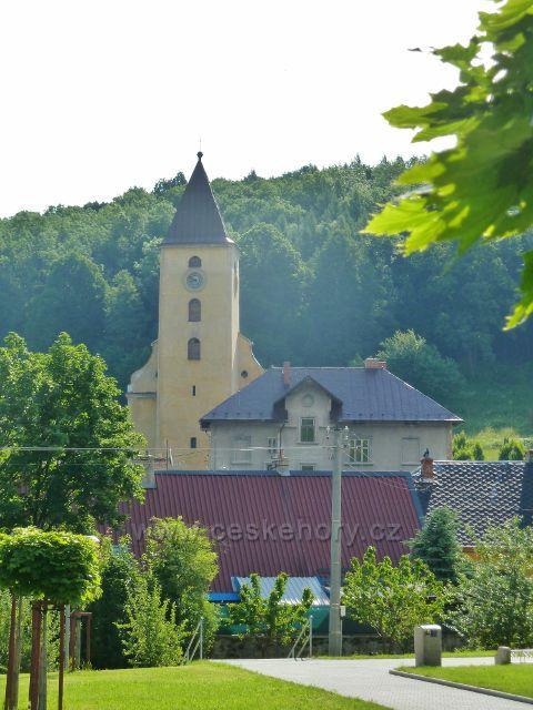 Vápenná - kostel sv. Filipa