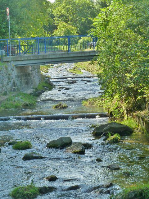 Vápenná - mostek přes říčku Vidnávku