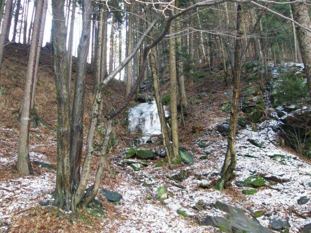 ledopád v Pekelském údolí-Náchod