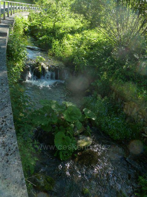 Nové Losiny - Novolosinský potok