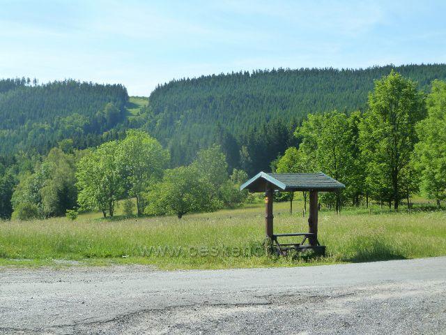 Nové Losiny - turistický přístřešek na Přemyslovském sedle
