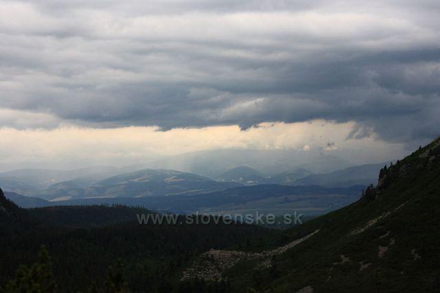 bouřková nálada pod Tatrami