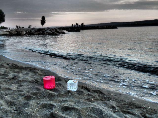 Pláž v Duče
