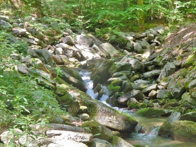 Kouty n.D. - Ponoklý potok nad mostkem