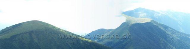 panorama z velkého rozsutce