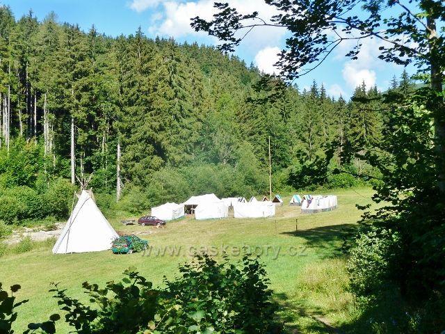 Chrastice - skautské tábořiště Pasínky