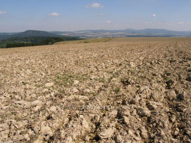 panorama Stolových hor z Bišíku