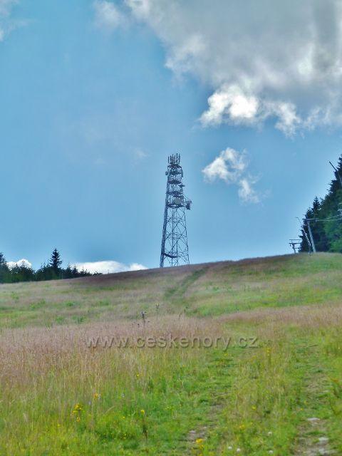 Čenkovice - telekomunikační věž na Bukové hoře
