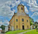 Čenkovice - kostel svatého Vavřince