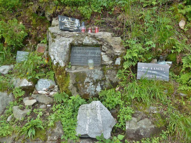 Lysá hora - památník lysohorským obětem