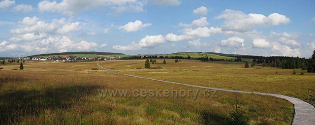 Panorama - Boží Dar a Klínovec