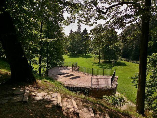 Loučná nad Desnou zámek s parkem