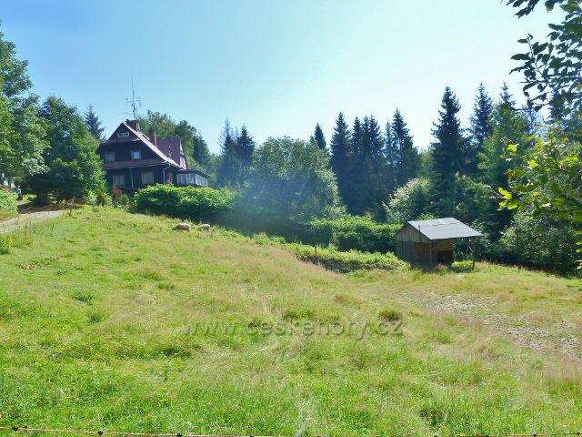 Bukovec - areál horské chaty Gírová