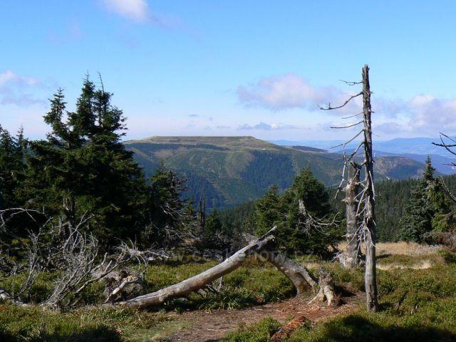 Dlouhé Stráně s horním jezerem PVE DS