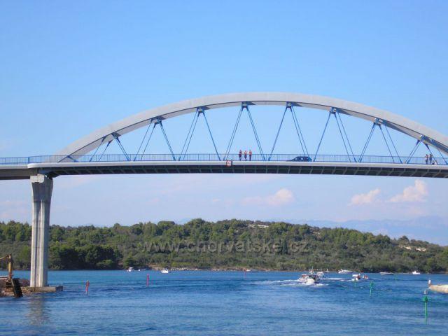 Most - cesta lodí do Zadaru