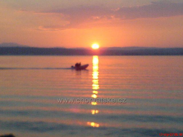 Východ slunce v Kukljici