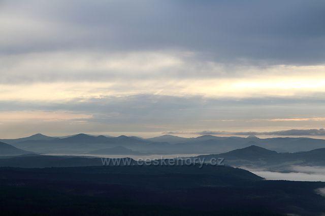 Lužické hory z Děčínského Sněžníku