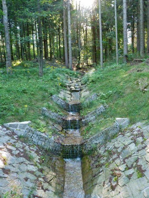 Dolní Morava - regulace na levostranném přítoku řeky Moravy