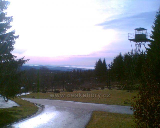 Železná opona na Bučině s Dachsteinem