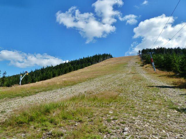 Dolní Morava - sjezdovka na vrcholu Slamníku (1233 m.n.m.)
